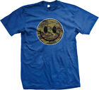 Smiley Face Army Camouflage Soldier Military Armed Forces Unit USA Men's T-Shirt