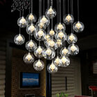 36 Lights Modern LED Glass ball Ceiling Light Living Room Bedroom Pendant Lamp