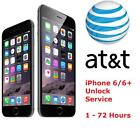 iPhone 6, 6+ AT T FACTORY UNLOCK CODE SERVICE - 100% GUARANTEE CLEAN IMEI FAST