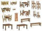 Mercers Furniture Corona Mexican Pine Dining Table and Chairs Sets