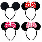 Cute Mickeys Minnies Mouses Ears Bow Headband Hen Night Women Girl Party Fancy ♫