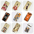 Haikyuu Anime Manga iPhone 4s 5s SE 5c 6 6s 7 Plus Case Silicone TPU Free Ship