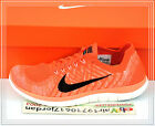 Nike Wmns Free 4.0 Flyknit Red Orange 717076-602 US 6~8.5 Womens Running