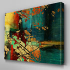 AB898 Modern contemporary orange Canvas Wall Art Abstract Picture Large Print