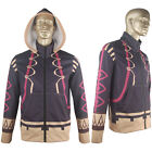 Fire Emblem Awakening Robin Jacket Hoodie Coat Outfit Halloween Cosplay Costume