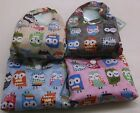 Ladies Pocket Shopper 4 Assorted Mini Owl Print Shopper 74024
