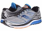 SAUCONY GUIDE 9 SILVER BLUE ORANGE MENS RUNNING SHOES **FREE POST WORLDWIDE