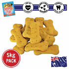 5KG CHEESE LOVERS VEGETARIAN WHOLEMEAL FLAXSEED BISCUIT HEALTHY DOG TREATS