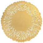 "4"" 6"" 8"" 10"" 12"" Metallic GOLD FOIL Paper Lace Doilies 
