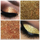 Glitter Eyes - Duo Sand & Platinum Metallic Eye Shadow Fixing gel Long Lasting