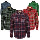 Ladies Womens Long Sleeve Button Down Check Tartan Shirt Lumberjack Blouse Top