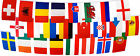World Cup & European Flag Bunting - 24 Country Euro 6m 8m 9m Triangle 16m Large
