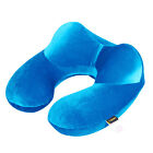 Portable Outdoor Inflatable Travel Pillow Air Plane Cushion Neck Sleep Car Rest