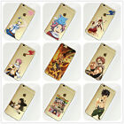 Fairy Tail Anime Manga iPhone 4s 5 5s 5c 6 6s 7 Plus Case Silicone TPU Free Ship