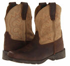 LAREDO LC2110 Child's Brown Tan Prowler Leather Suede Boys Girls Boots Shoes NEW