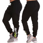 NEW Mens Gym Athletic Track Fleece Pants joggers Deep Crotch Trackies Macri