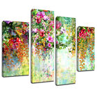 MAB1033 Garden Flower Sketch Canvas Wall Abstract Art Multi Frame Picture Print