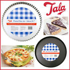 Loose Base Tart Tin Flans Fluted & Non Stick Flan Quiche Pie Tarts Easy Bakin