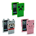 Phone Case Creeper Wolf Pig 3D Silicone Cellphone ipone Samsung Ipad