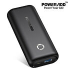 Poweradd 10000mAh Mobile Power Bank Aluminum Portable Charger External Battery
