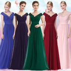 Ever Pretty Women's V-neck Long Evening Bridesmaid Party Formal Prom Dress 08633
