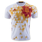 adidas Men's Spain 2016 Away Jersey White/Red AA0830