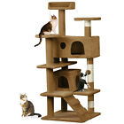 New Cat Tree Tower Condo Furniture Scratch Post Kitty Pet House Play 52