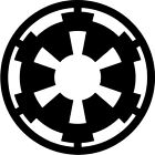 Star Wars - Imperial Logo - Vinyl Car Window and Laptop Decal Sticker $3.99 USD