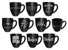 Stoneware Mug: Led Zeppelin / Beatles / Pink Floyd / AC/DC / Iron Maiden - New