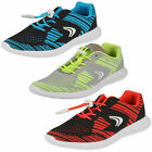 Boys Or Girls Sprint Knit Inf & Jnr Textile Trainers F & G Fittings