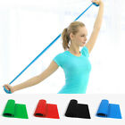 Elastic Rubber Workout Yoga Band Stretch Pilates Resistance Exercise Wide Band