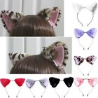 HOT Cat Fox Long Fur Ears Anime Neko Hair Clip Orecchiette Cosplay Party TXWD