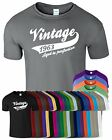 VINTAGE 1963 New Mens T-Shirt Top Funny Birthday Present Tee Low Price