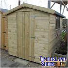 Apex Garden Sheds Heavy Duty Tamalised 15 Year Anti Rot Guarantee