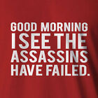 Funny Assassins cred T-shirt Great Gift Idea All Sizes ninja mma tapout >5XL