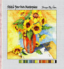 """""""SUNFLOWER PATTERN XV""""--Needlepoint: 14 ct or 18 ct--STITCH YOUR OWN MASTERPIECE"""