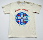 GREAT SPIRIT Native American TEE T Shirt Midwest Artist Designed