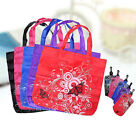 Clips Shopping Pouch Reusable Folding Bags Tote Eco Shopper Shoudler New