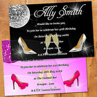 Personalised Magnetic Birthday Party Invites - 18th 21st 30th 40th - Champagne