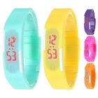 Cheap Digital Led Waterproof Sport Student Children Silicone Bracelet Wristwatch