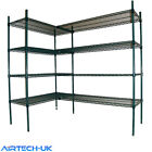 Shelving Cold Rooms Enamel Baked Nylon Coated Range All Sizes Available Racking