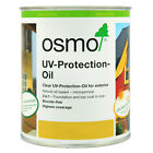 Osmo UV Protection Oil (410) - 125ml, 750ml & 2.5L - For Exterior Wood