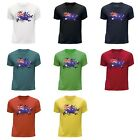 STUFF4 Boy's Round Neck T-Shirt/Australian Flag/CS