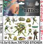 Lot Turtles Children Cartoon Temporary Tattoos Stickers fashion Gifts J62