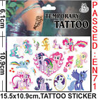 Lot My Little Pony Children Cartoon Temporary Tattoos Stickers fashion Gifts J64