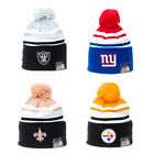 New Era Men's Felt Striper NFL Team Bobble Knit