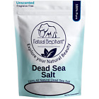 Natural Elephant Dead Sea Salt 100 Pure 1 lb, 2 lb, 5 lb, 10 lb Bag Fine Grain