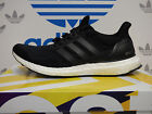 NEW ADIDAS Ultra Boost Mens Running Shoes - Black/White:  S77417