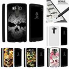 For LG V10| LG G4 Pro| Slim Fit Hard 2 Piece Case Sinister Skulls
