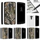 For LG V10| LG G4 Pro| Slim Fit Hard 2 Piece Case Tree Bark Hunter Camouflage